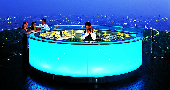Sky Bar at Sirocco